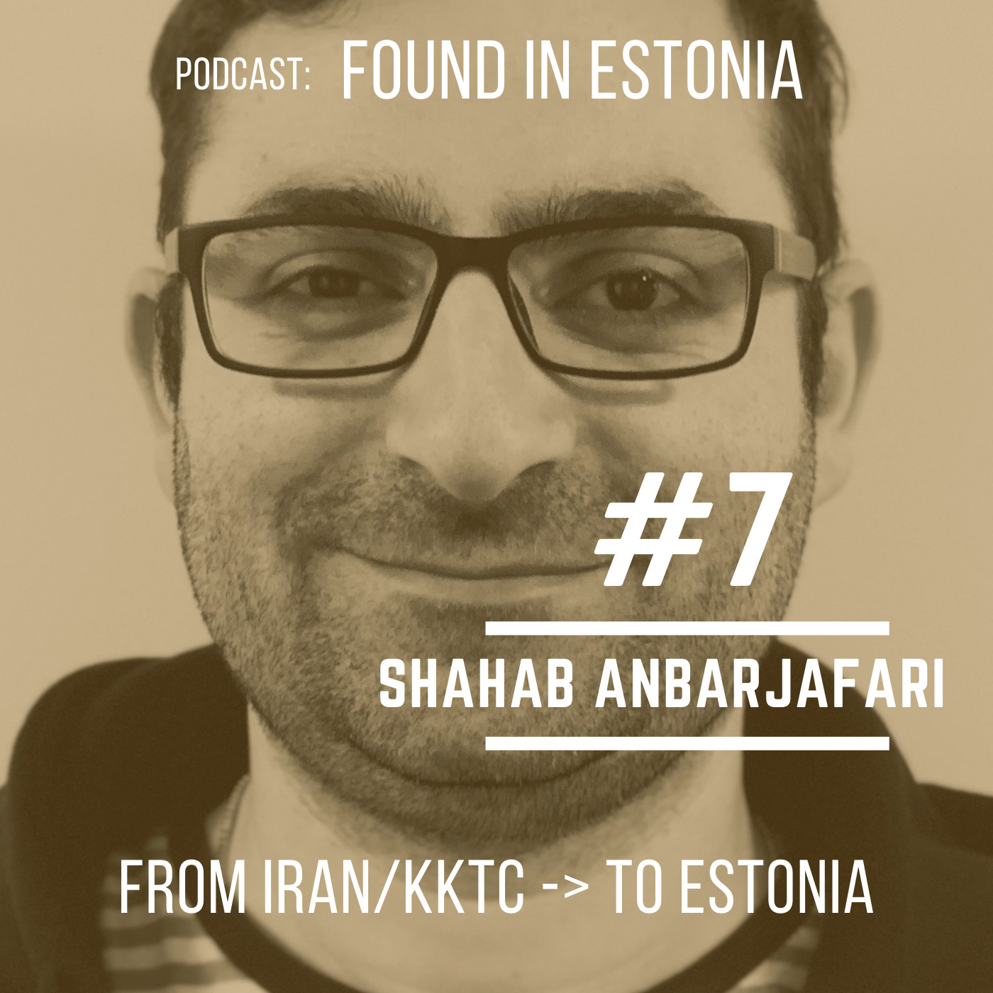 #7 Shahab Abarjafari - from Iran/KKTC to Estonia
