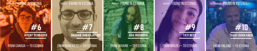Found in Estonia podcast guests