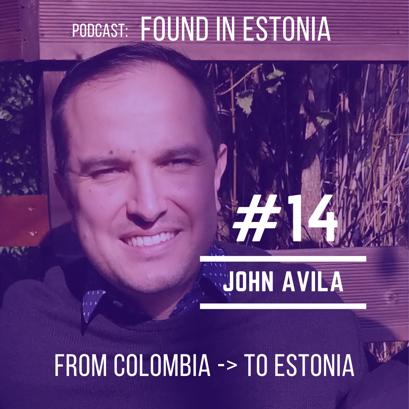 #14 John Avila from Colombia to Estonia