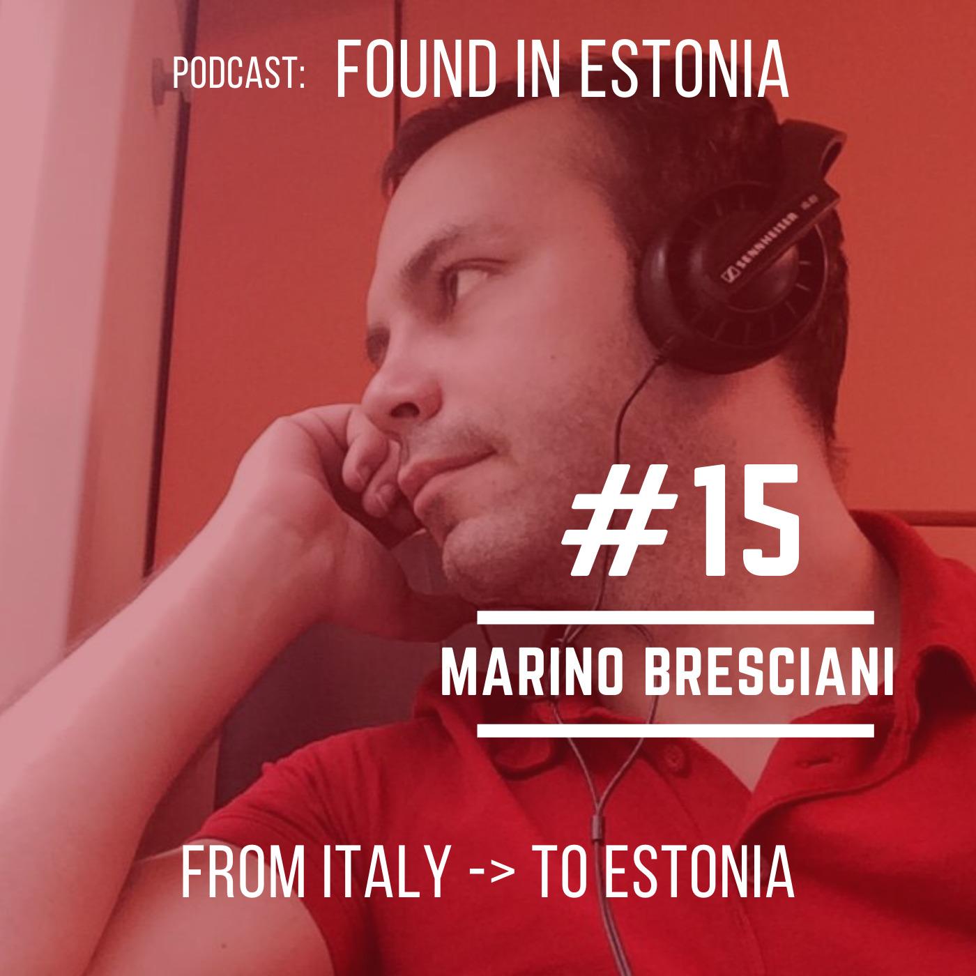 #15 Marino Bresciani from Italy to Estonia