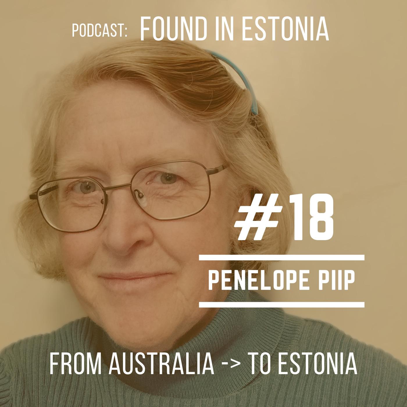 #18 Penelope Piip from Australia to Estonia