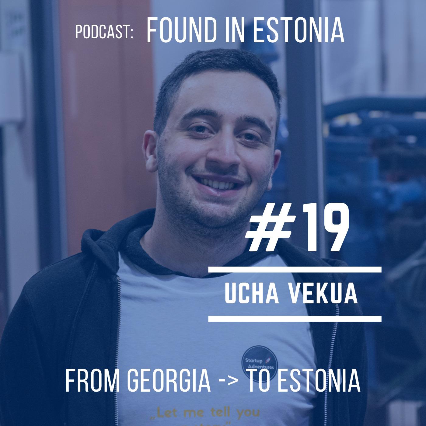 #19 Ucha Vekua from Georgia to Estonia