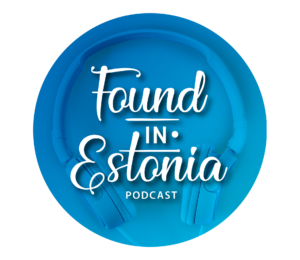 Found in Estonia rounded logo