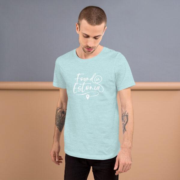 found in Estonia blue tshirt