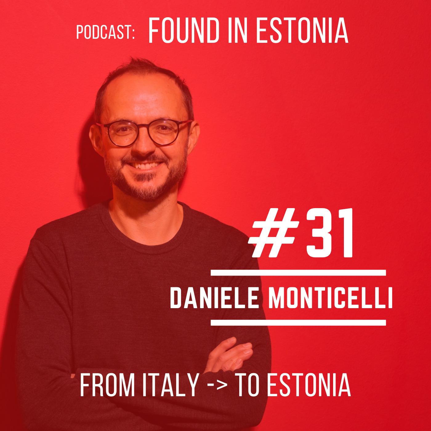 #31 Daniele Monticelli from Italy to Estonia