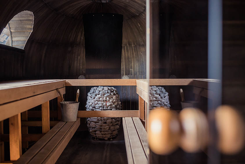 Found in Estonia: Electric sauna
