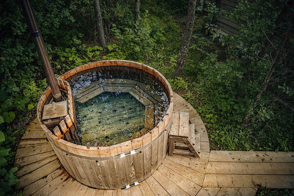Found in Estonia: Barrel Sauna