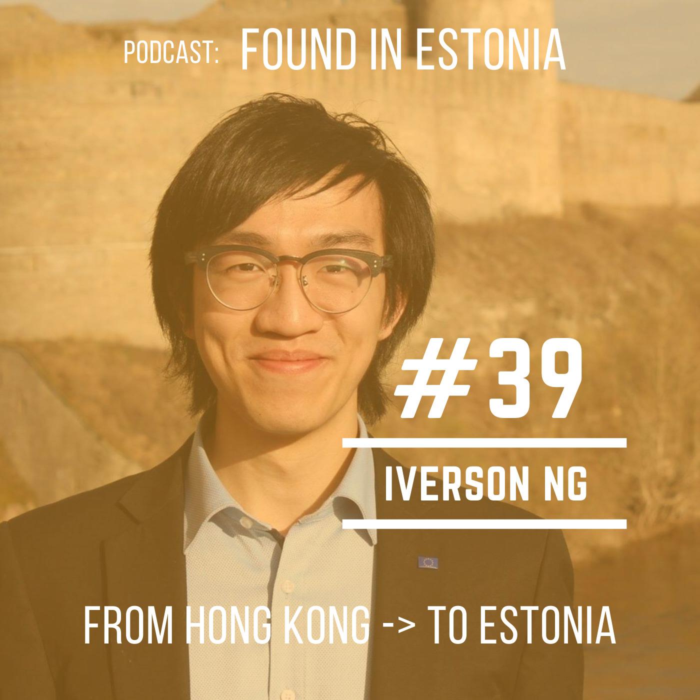 #39 Iverson Ng from Hong Kong