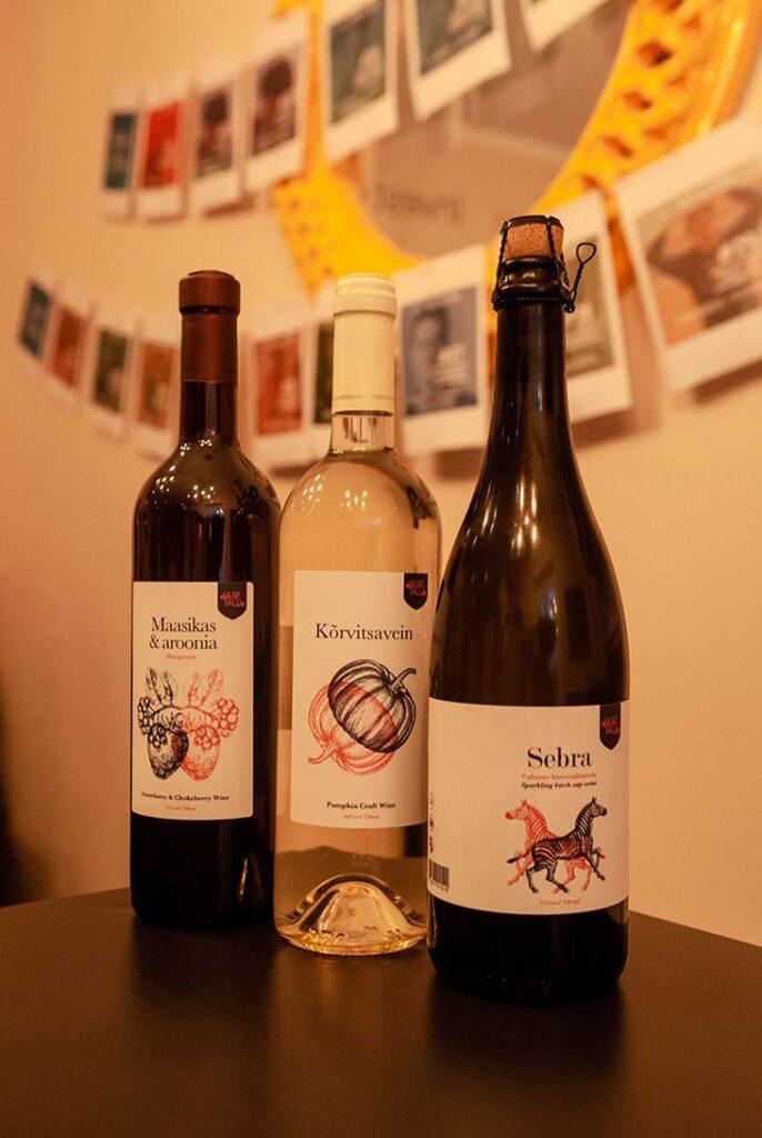 Estonian wines from Ulge talu