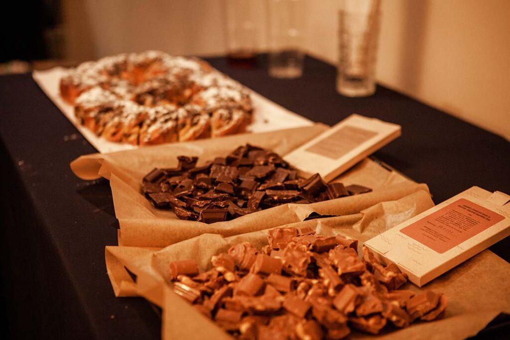 Estonian fish chocolate from Hiiumaa company Kivikala